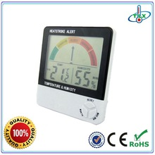 Indoor humidity monitor & room environment measuring for elder man & thermo hygrometer with alarm DTH-08