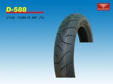 2014 newest guangzhou antiskip ,heavy duty tubeless motorcycle tyre 110/90-16
