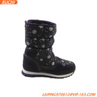 Cow leather half winter boots for adults S027