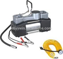 2014 hot sale top quality cheap portable powerful car tire emergency repair tool automatic air pressure compressor for car