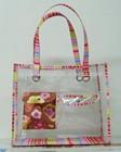 Clear pvc tote bag clear handbag wholesale transparent bag