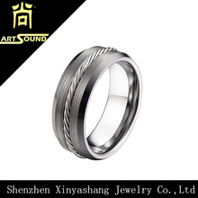 Best selling mens jewelry tungsten carbide military rings
