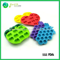 Hot selling funny shaped custom silicone cake pop tray