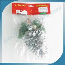 Fashion Design Christmas Pinecone Potterd Product/Xmas Ornament
