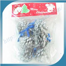 High Quality New Design Handmade Santa Pinecone Ornament