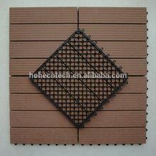 Outdoor composite deck tiles wood plastic composite