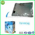 folha de alumínio saco na caixa de leite caixa de embalagem