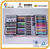 Aluminum pencil box student stationery items PVC box