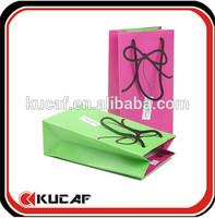 korean stylish paper tote bag thin art paper bag