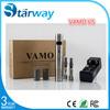 2014 Hottest Vamo Ecig,Stainless Steel Vamo V V Mod,Vamo V5 Starter Kit