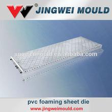 pvc free foamed board mold flat dies for manufacturer