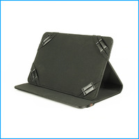 """black 7"""" 8"""" Commonly used color universal leather case"""