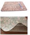 2014 nuevo diseño de la impresión personalizada de madera corcho mantel