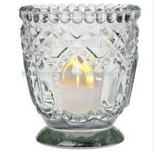 Heirloom Votive Candle Holders Clear