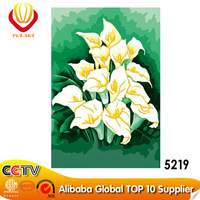 2014 Wholesale Beautiful Flower Oil Painting on Canvas (40*50cm)