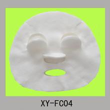 disposable nonwoven viscose or cotton or fiber beauty face mask cover