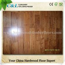 african padauk wood Prefinished Solid Wooden Floors