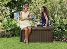 popular outdoor furniture wicker cushion box