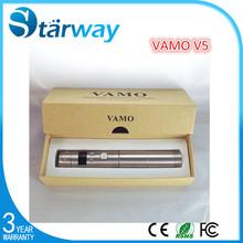 Alibaba Express Stainless Vamo V5 Nemesis Mod,Vamo V5 V4 V3 V2 Ecig Starter Kit With Led Screen