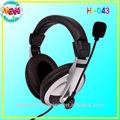 orejera de esponja equipo de auriculares auricular auricular con micrófono desmontable