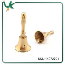 3.5 INCH HANDMADE Polished Brass Finish Hand Bell