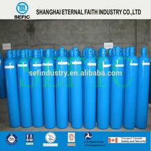 vendita calda bombola del gas in acciaio senza saldatura bombola di ossigeno portatile