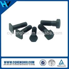 Square head machine bolts carbon steel hot dip galvanized