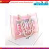 Cheap transparent PVC beach bag