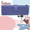 2014 Hot Sale Fashion Trend Royal Purple Women's PU Leather Wallet/Purse