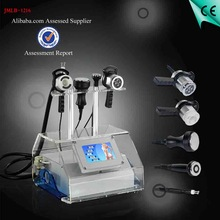 2014 new hot selling 5 in 1 Cavitation body slimming RF Face Beauty BIO equipment