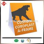 2015 coroplast a frame folding plastic yard sign