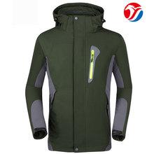 3 in 1 ski Jacket china manufacturer customized100% nylon taslon Jacket