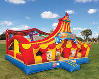 2014 outdoor/indoor giant inflatable playground for kids