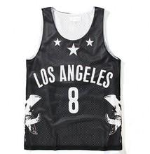 wholesale crochet cotton rib tank top men gym basketball tank top