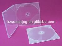 wholesale standard clear cd case plastic cd case cover size