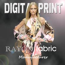 Viscoese/rayon fabric, 100% print rayon fabric -0730c