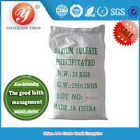 LIANGJIANG CHEM new product precipitated barium sulfate, natural barite, barium sulfate price