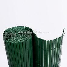 16mm 19mm PVC fence PVC bamboo fence PVC balcony fence