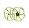 2014 New design CNC forged Colorful aluminum motorcycle wheel