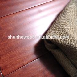 CE,FSC Certificated Antique Handscraped Birch Engineered Wooden Flooring, 2mm Top Layer