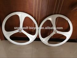 bicycle wheel sets fixie bike parts High Quality Aero Spoke bicycle wheel Magnesium Alloy wheel SW-BP-W50