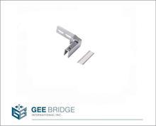 0809003 Steel Furniture Hardware Inset Glass Door Pivot Hinge