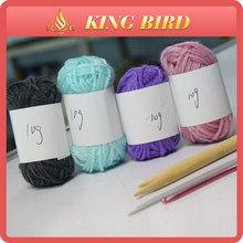 Hand knitting hotsale 10 grams 100% acrylic yarn