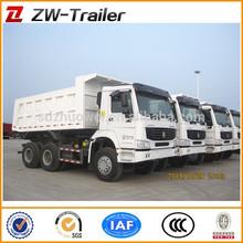Howo 6x4 Mine used Dump Trucks Heavy Dumper Truck 336HP/371HP HW76 cab For Sale