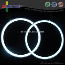 2015new light products illuminating EL round circle lamp light