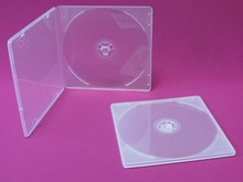 high quality raw material plastic cd dvd case dimensions of a cd case