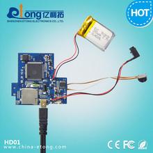 Hot cheap MJPEG 1.0mp 120mm length jpeg serial camera module with USB2.0 port