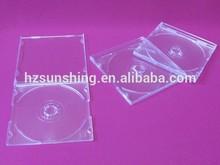 popular cd case plastic production hot sale cheap long cd box