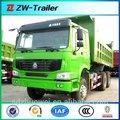 de servicio pesado de transporte de arena trasera de descarga de camiones para la venta
