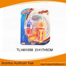 Toys for Children Flash Flying Saucer Spinning Toys Peg--top GunToys